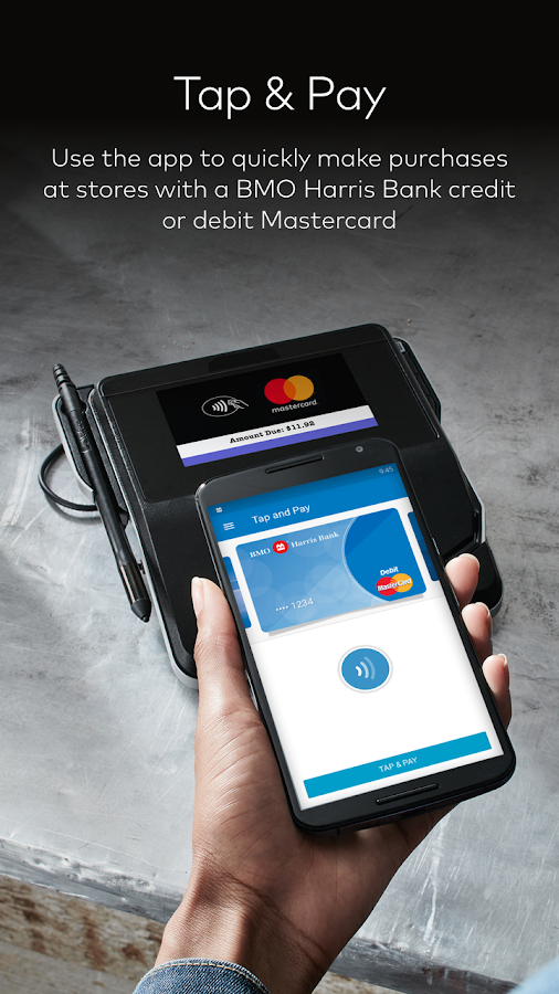 BMO Harris Bank Masterpass- screenshot