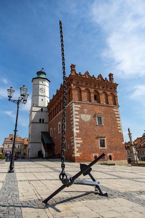 Sandomierz, Rynek, kotwica