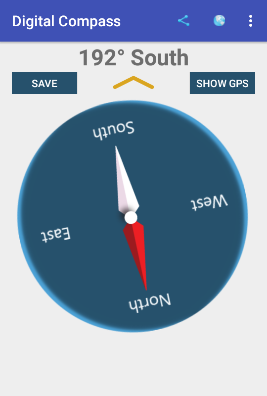 Digital Compass- screenshot