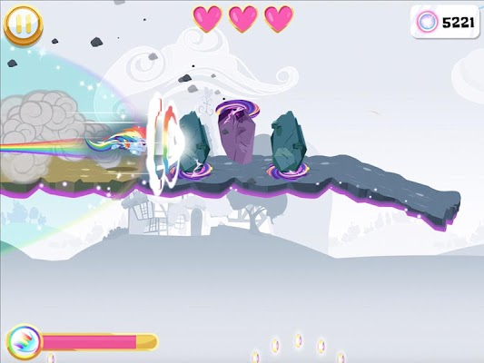 My Little Pony Rainbow Runners - screenshot