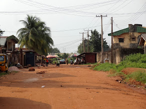 Photo: The following pictures are of the streets of Benin City.