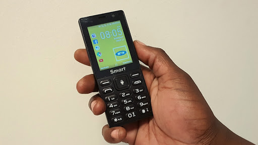 MTN's new smart feature phone, the MTN Smart S.