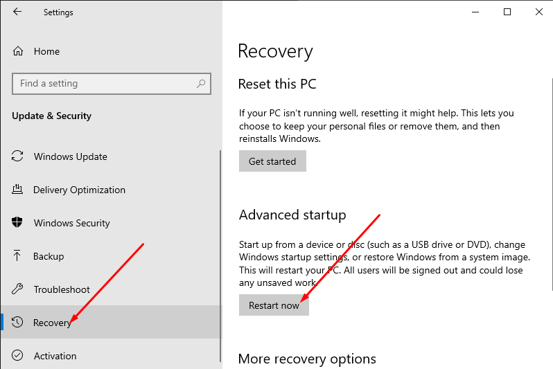 Fix shift key on Windows 10