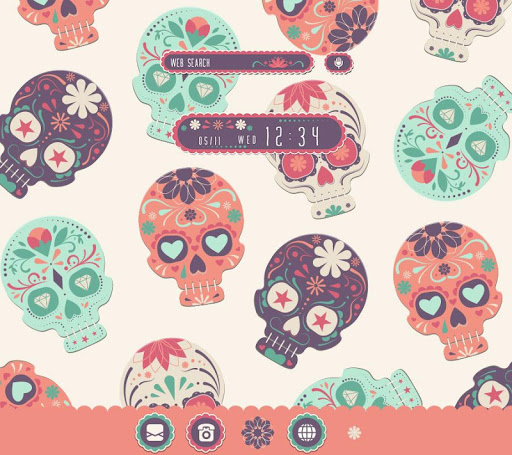 Sugar Skull Wallpaper 1.0.0 Windows u7528 1