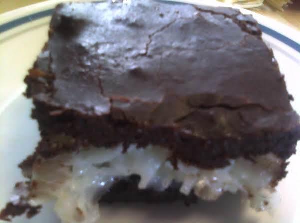Mounds Brownies Recipe