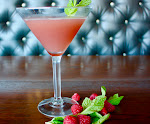 Raspberry Mint Gimlet