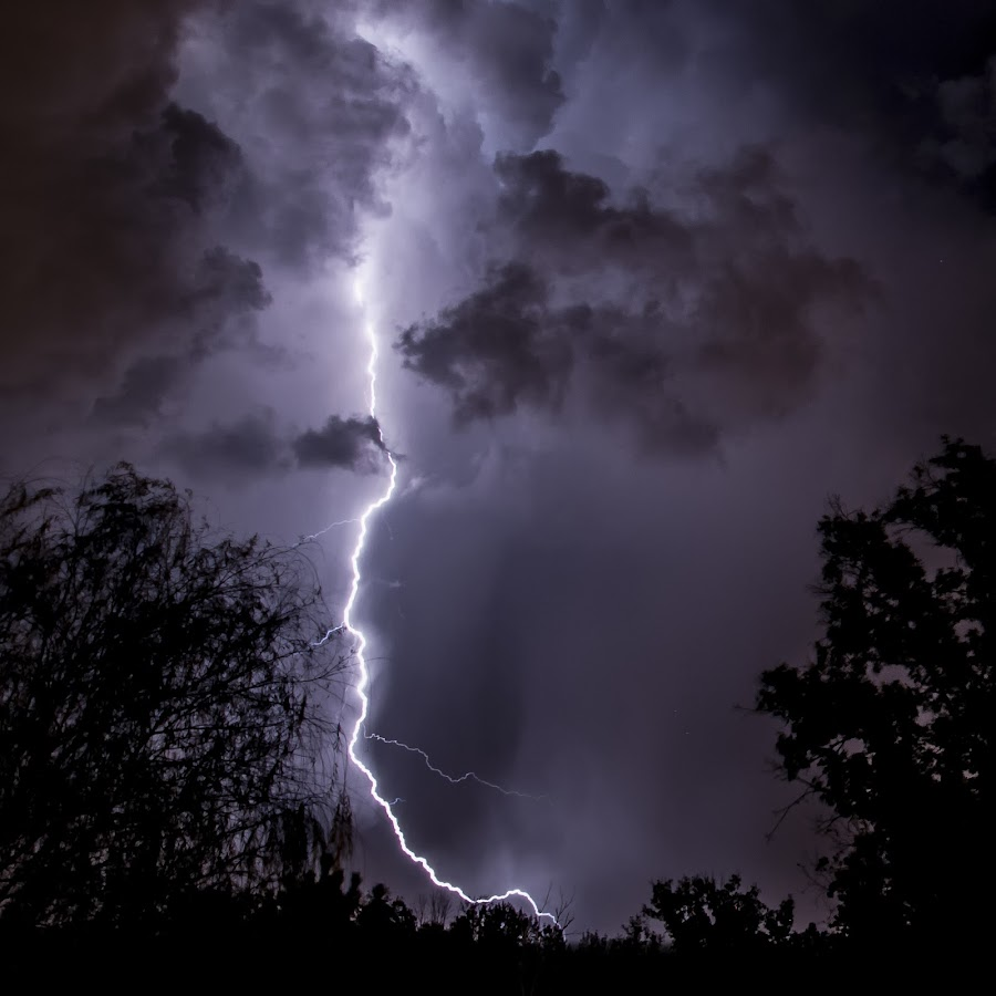 Ominus  by Brian Young - Landscapes Weather ( lightning, danger, weather, storm )