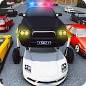 Elevated Car Racing Speed Driving Parking Game icon