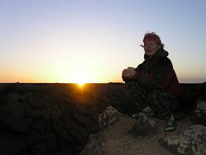 Photo: 02.01.2010r. wschód słońca przy urwisku