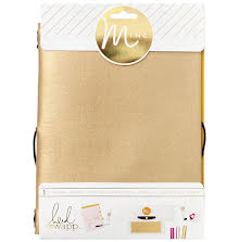 Heidi Swapp Minc Journal Cover 6X9 - Gold Vinyl UTGÅENDE