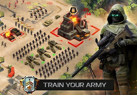 Soldiers Inc: Mobile Warfare MOD APK (Unlimited Everything) 3