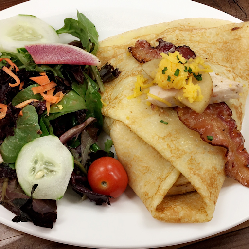 13. Chicken and Bacon Savoury Crepe