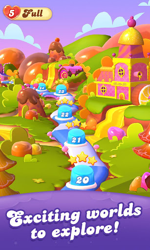 Candy Crush Friends Saga screen 2