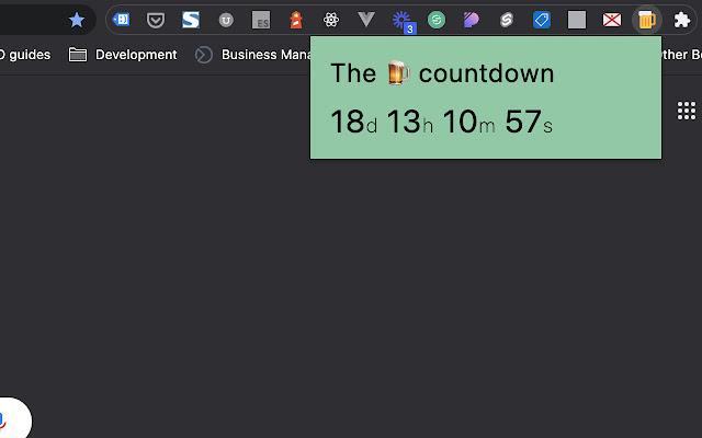 JSY Pub Opening Countdown