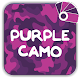 Download Purple Camo Theme for Xperia™ For PC Windows and Mac