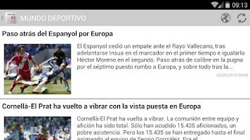 Screenshot of Euskal egunkariak