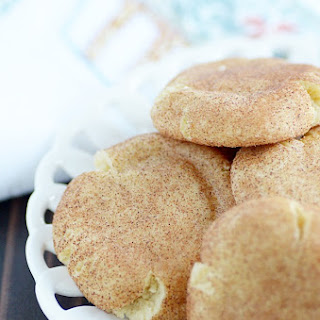 Thick and Chewy Snickerdoodles