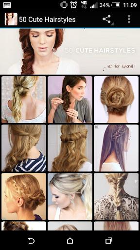 50 Cute Hairstyles