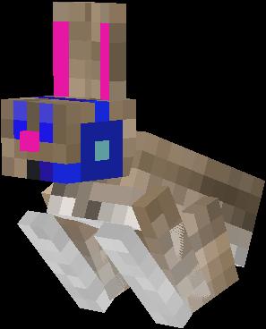 скин кролика в майнкрафт #6