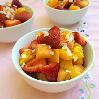 Strawberry Mango Pico de Gallo