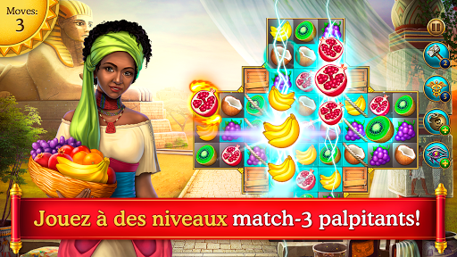 Cradle of Empires Match-3 Game APK MOD (Astuce) screenshots 1