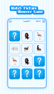 Match Picture Memory Game (Unlimited Money) 4
