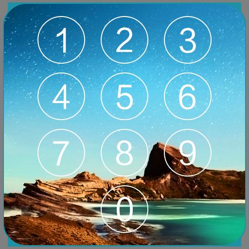 键盘锁屏 - 手机安全 個人化 LOGO-玩APPs