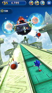Sonic Dash Mod Apk 4.13.0  [Unlimited Rings + Unlocked] 3