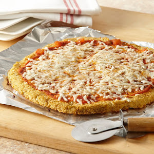 Gluten-Free Cheese Pizza with Cauliflower Crust