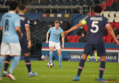 PSG-City: Kevin De Bruyne élu homme du match