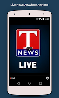 Screenshot of T News Live