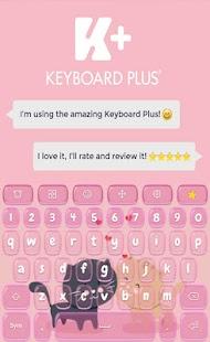 Kitty Animated Keyboard - náhled