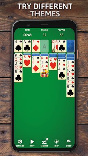 Solitaire Classic Era - Classic Klondike Card Game screenshots 3