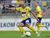 Milos Maric ratera le match Waasland-Beveren - Dender