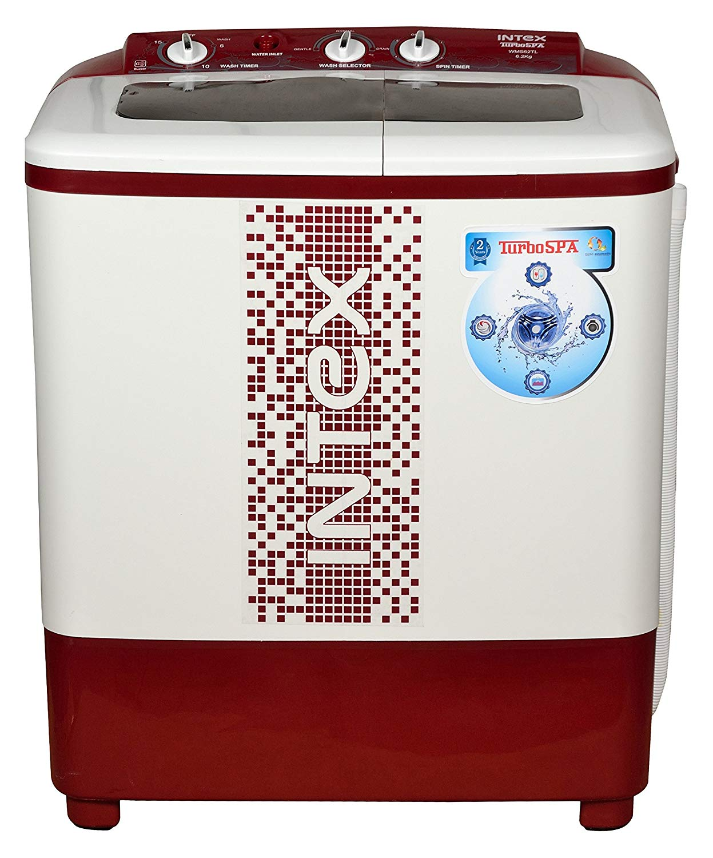 INTEX 6.2 SEMI-AUTOMATIC WASHING MACHINE (WMS62TL)