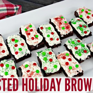 Frosted Holiday Brownies with Pillsbury™ Purely Simple™