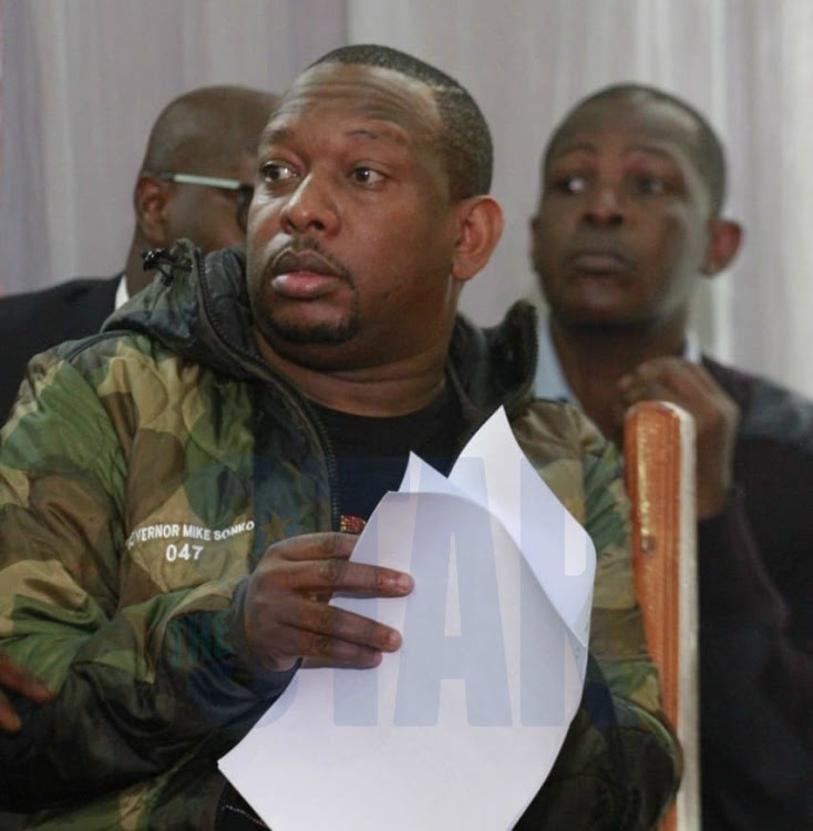 Blow for Sonko as court declines to halt Sh357 million graft case