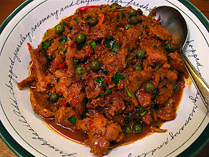 Photo: spicy wild boar curry