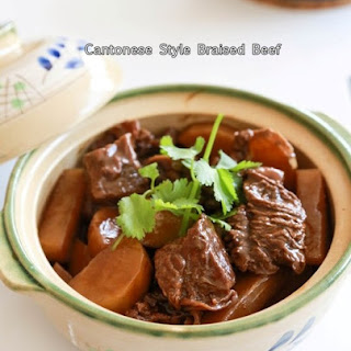 Cantonese Style Braised Beef Stew 炆牛腩.