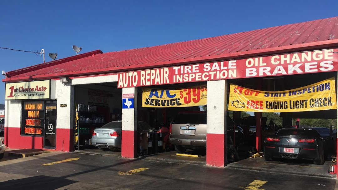 1st Choice Motors >> 1st Choice Auto Auto Repair Shop In Plano