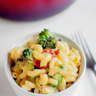 Roasted Vegetable Mac And Cheese