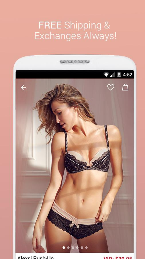 Adore Me's chic and affordable underwear is guaranteed to flatter, and always hug your curves in the right way. Life is short, buy the teddy - and let your style shine through. With our latest app update, you can shop app-exclusive sales, and catch sneak peeks of new collections on the go!/5(K).