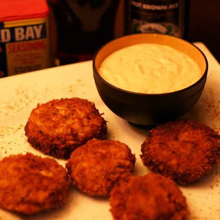 Maryland Style Crab Cakes.