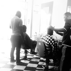 by Sergio França - Black & White Objects & Still Life ( barbershop, hairsaloon )