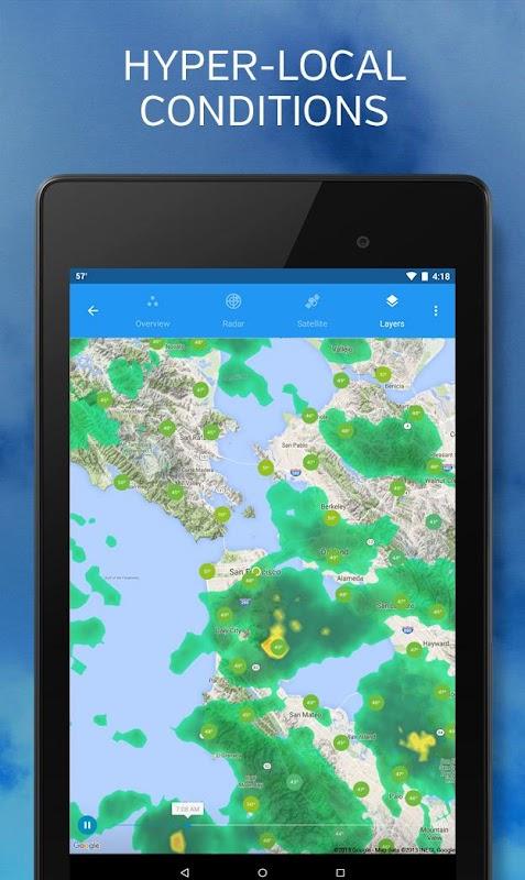 Weather Underground: Forecasts screenshots