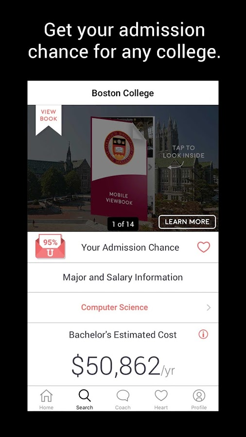 The College Fair  🎡  College Search & Advice- screenshot