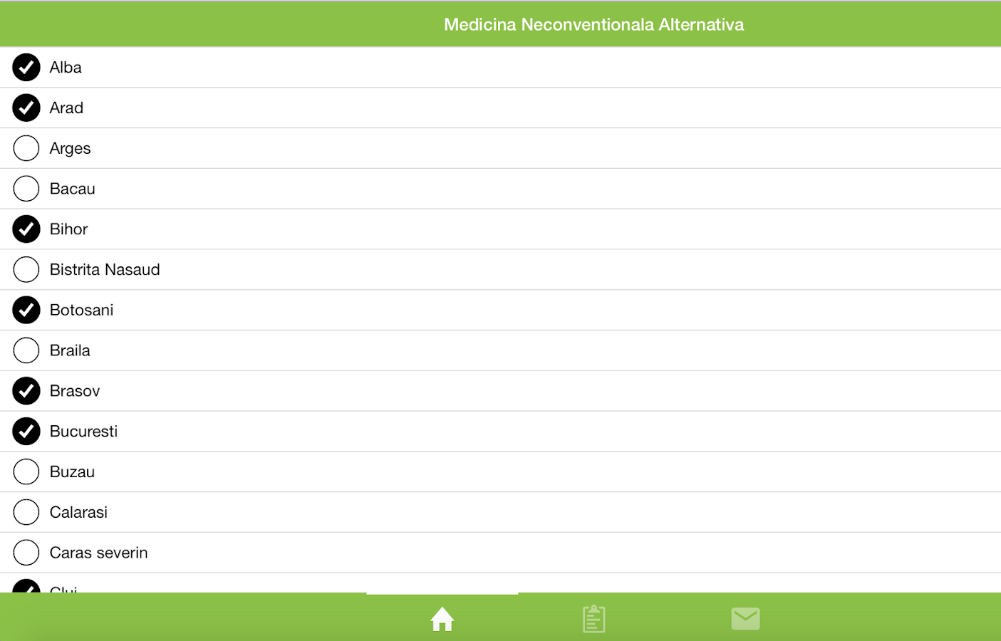 Medicina Neconventionala- screenshot