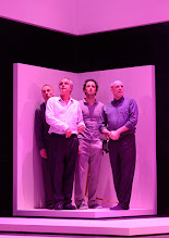 Photo: Wien/ Theater in der Josefstadt: KAFKA - EIN PROJEKT VON ELMAR GOERDEN. Premiere 25.4.2015. Regie: Elmar Goerden. Andre Pohl, Toni Slama, Alexander Absenger, Peter Kremer.    Foto: Barbara Zeininger