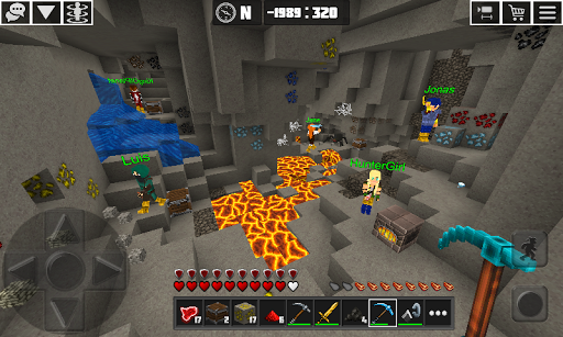 Planet Craft: Block Survival Craft Games Online  captures d'écran 5
