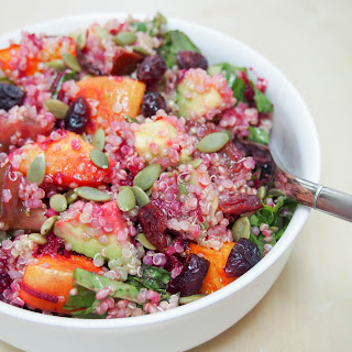 Roast Squash, Avocado And Quinoa Salad